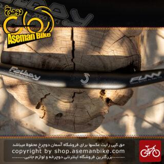 فرمان بلند دوچرخه مخصوص انواع دوچرخه برند فان مدل فت بوی 785 میلیمتری Funn Fatboy Handlebar Rise 18 mm 35 Backsweep 8 Upsweep 4 785 mm Polish & Blast Anodized Gray
