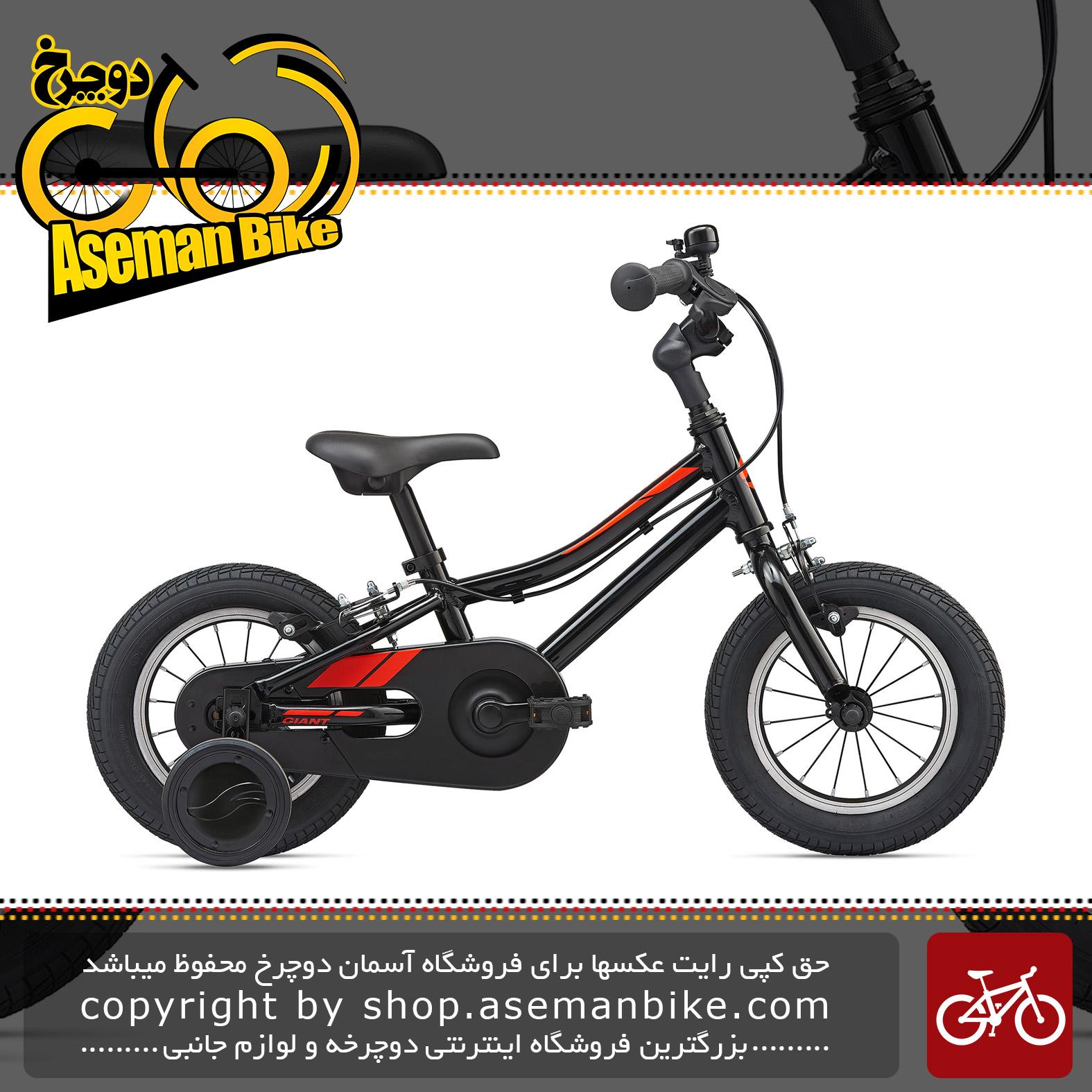 دوچرخه بچه گانه جاینت مدل انیماتور اف دبلیو سایز 12 2020 Giant Kids Bicycle Animator F/W 12 2020
