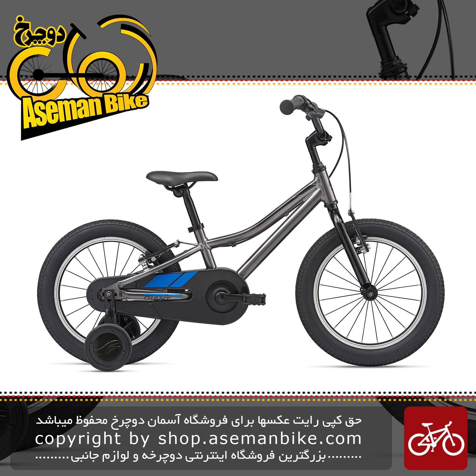 دوچرخه بچه گانه جاینت مدل انیماتور اف دبلیو سایز 16 2020 Giant Kids Bicycle Animator F/W 16 2020