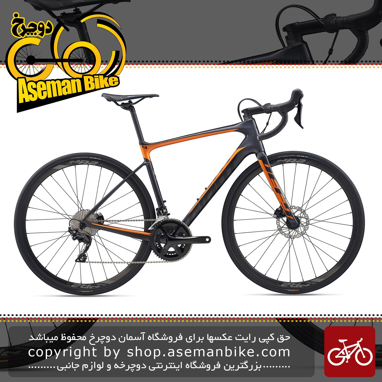 دوچرخه کورسی جاده جاینت مدل دیفای ادونس 2 2020 Giant Road Bicycle Defy Advanced 2 2020