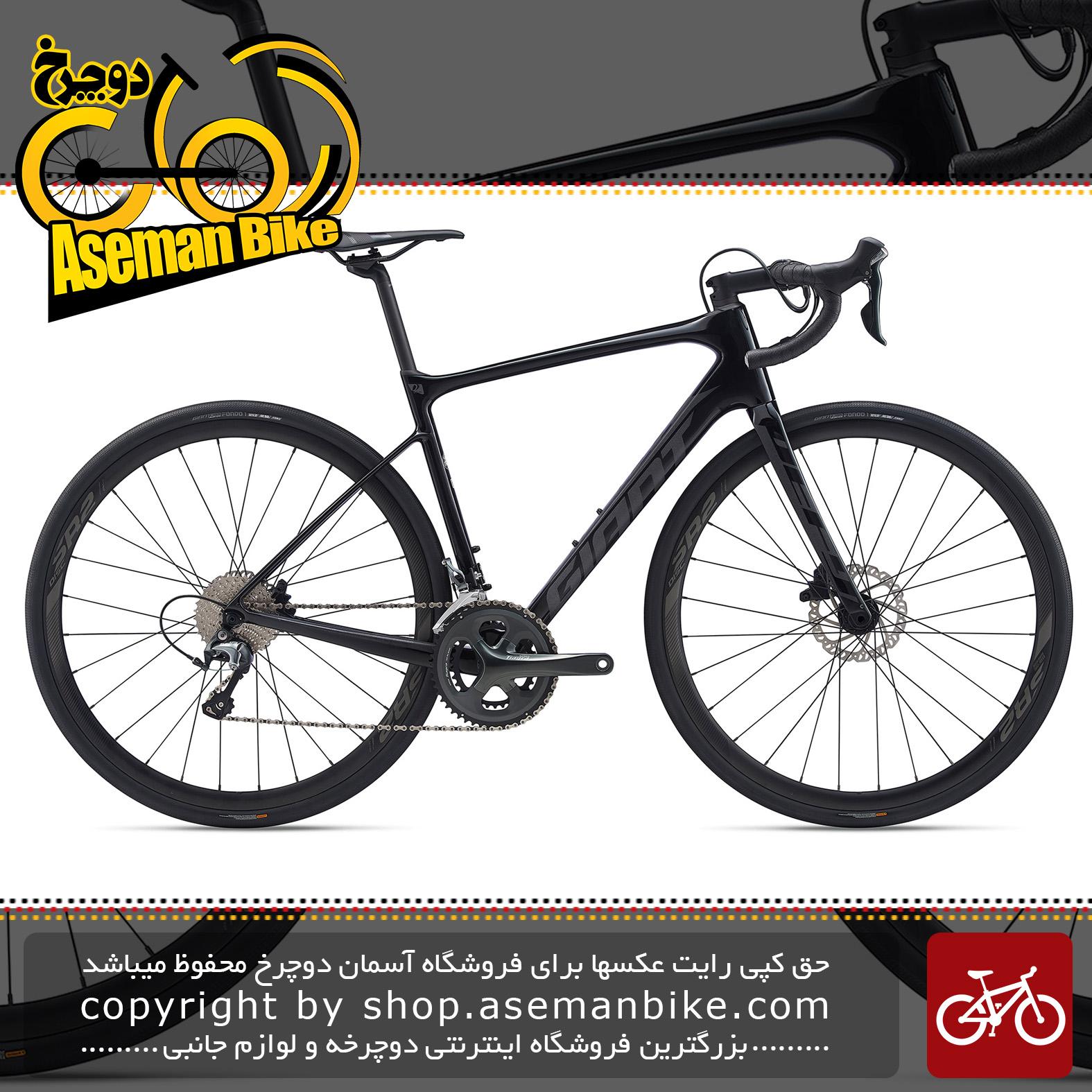 دوچرخه کورسی جاده جاینت مدل دیفای ادونس 3 2 2020 Giant Road Bicycle Defy Advanced 3 2020