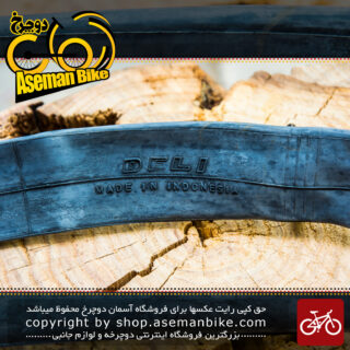 تیوب دوچرخه دلی ساخت اندونزی سایز 27.5 1.75 2.125 والو پرستا 60 میلیمتری Deli Bicycle Tube 27.5 1.75 2.125 Presta 60mm Indonesia