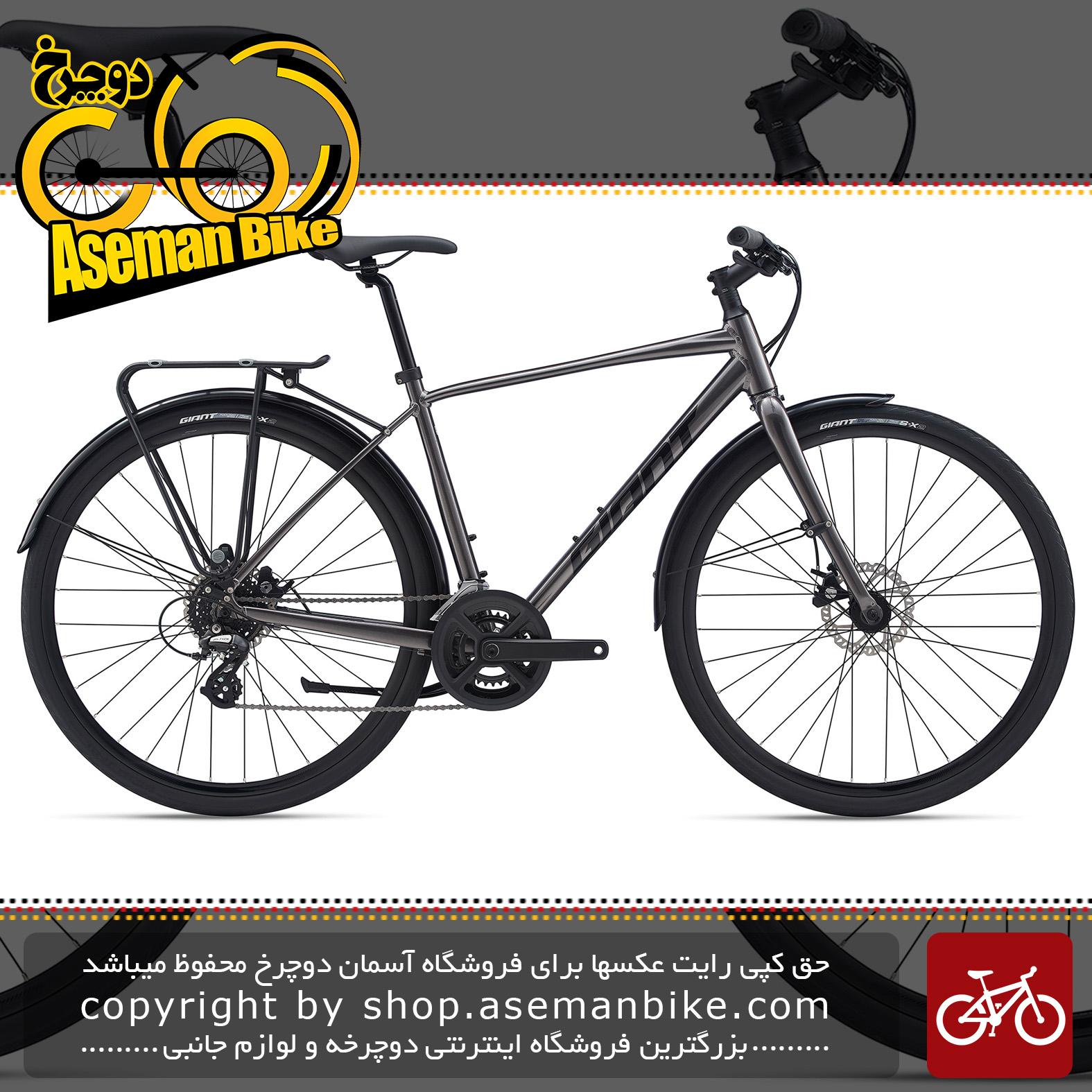 دوچرخه شهری جاینت مدل اسکیپ سیتی دیسک هیدرولیک 3 2020 Giant City Bicycle Escape City Disc 3 2020