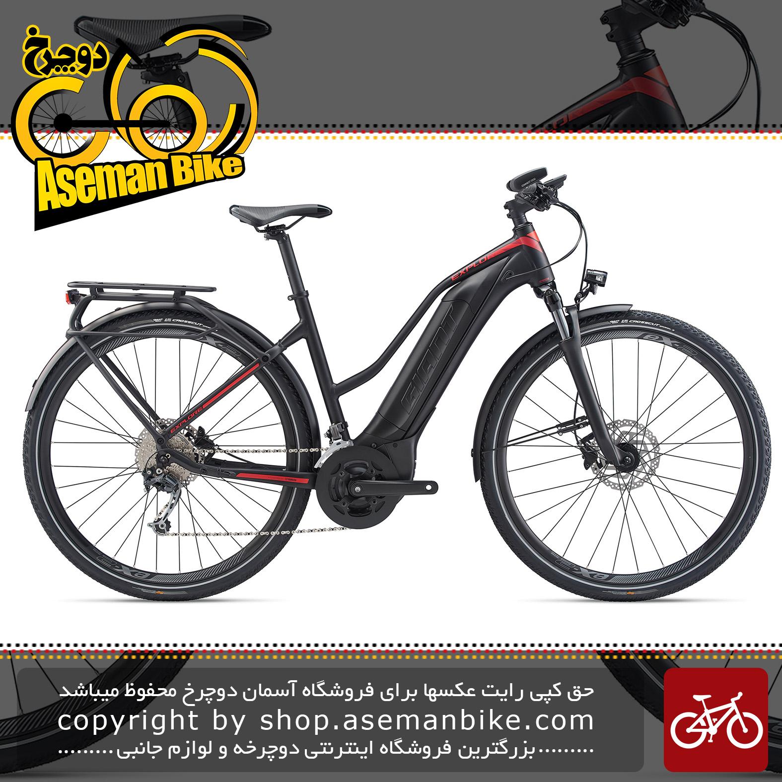 دوچرخه دومنظوره برقی جاینت مدل اکسپلور ای پلاس 2 اس تی ای 2020 Giant Trekking Bicycle Explore E+ 2 STA 2020
