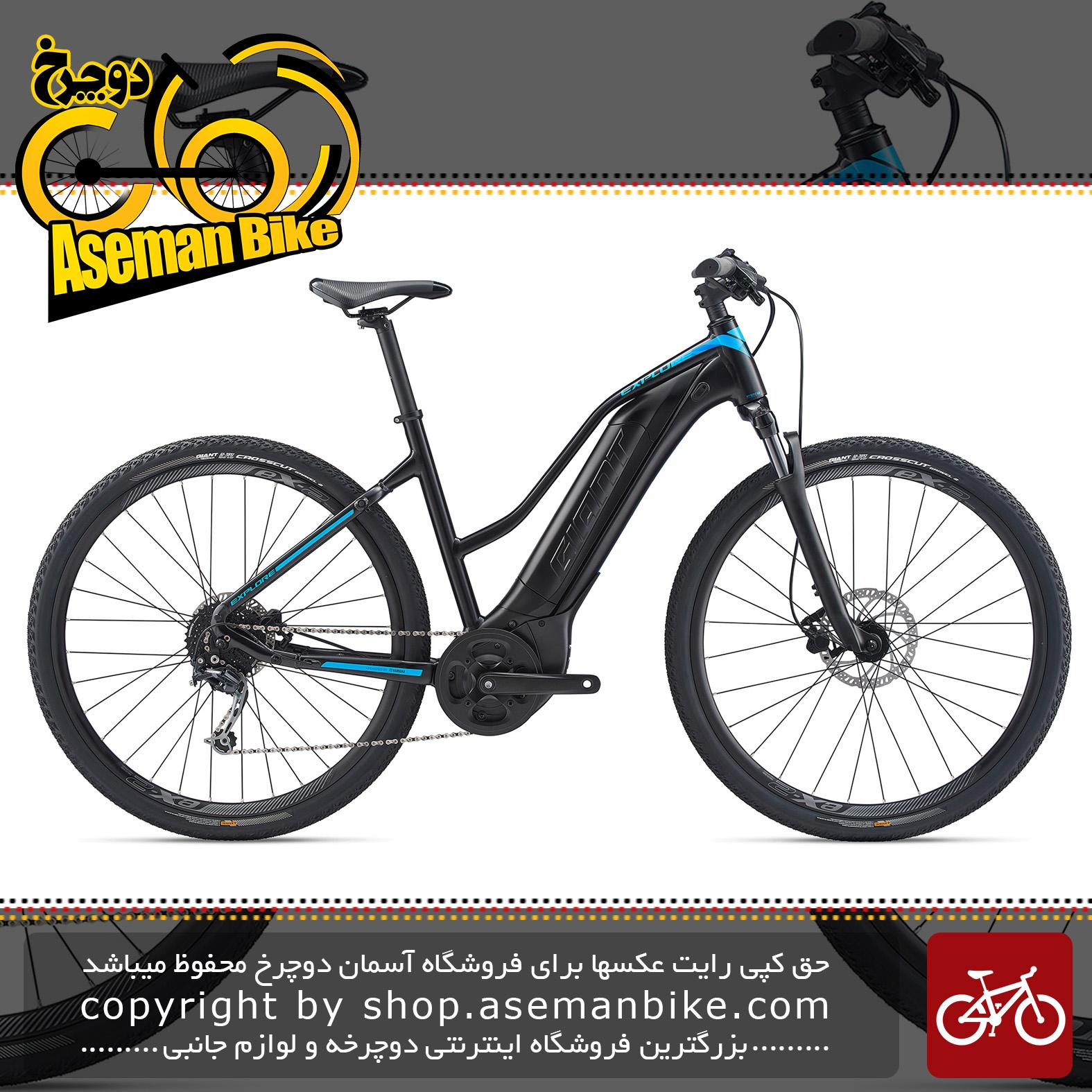 دوچرخه دومنظوره برقی جاینت مدل اکسپلور ای پلاس 4 اس تی ای 2020 Giant Trekking Bicycle Explore E+ 4 STA 2020