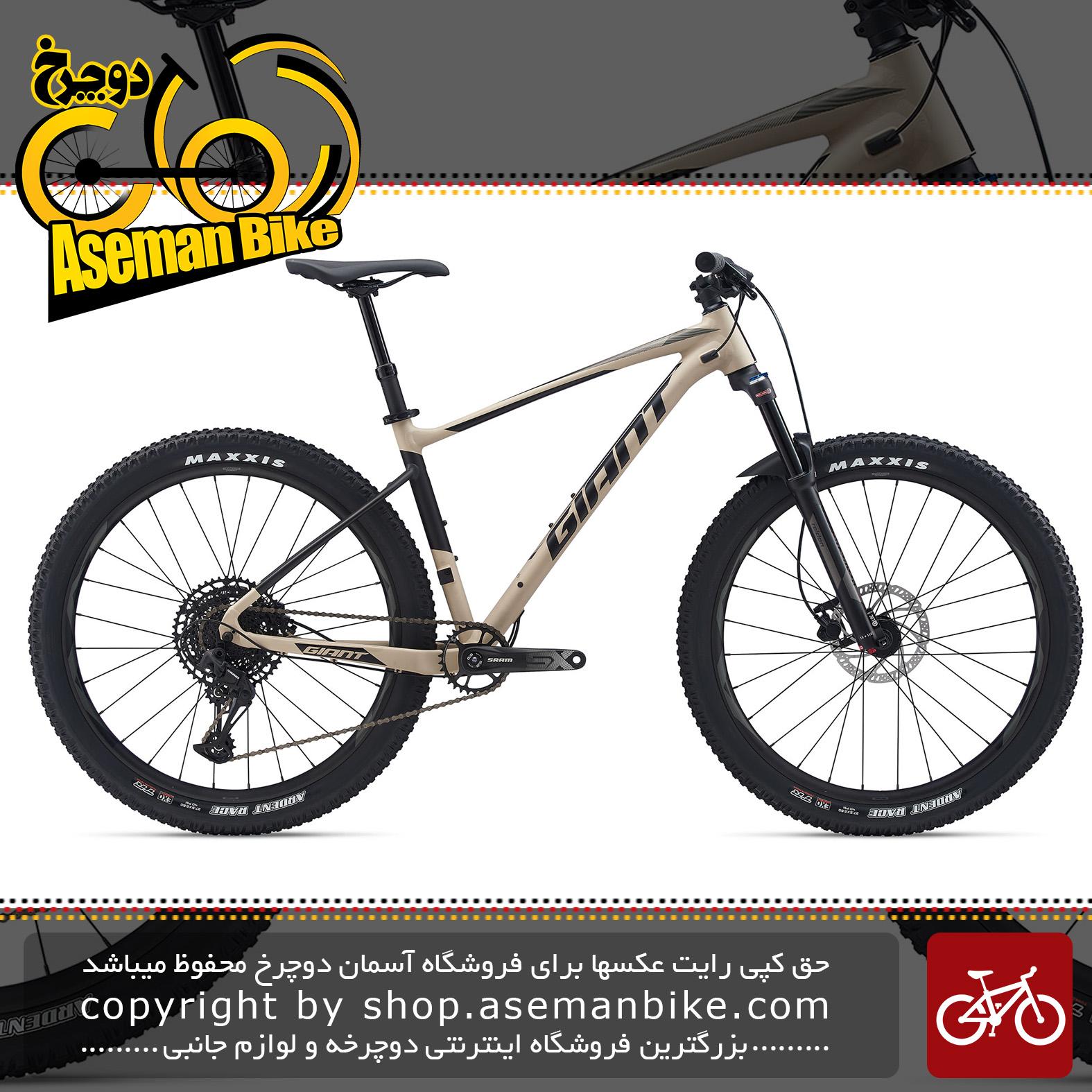 دوچرخه کوهستان جاینت مدل فدم 2 2020 Giant Mountain Bicycle Fathom 2 2020