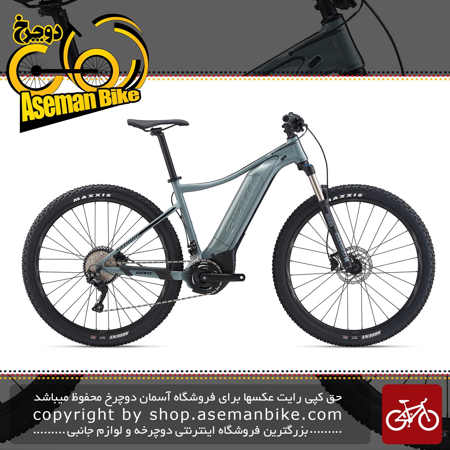 دوچرخه کوهستان برقی جاینت مدل فدم ای پلاس 2 2020 Giant Mountain Bicycle Fathom E+ 2 2020