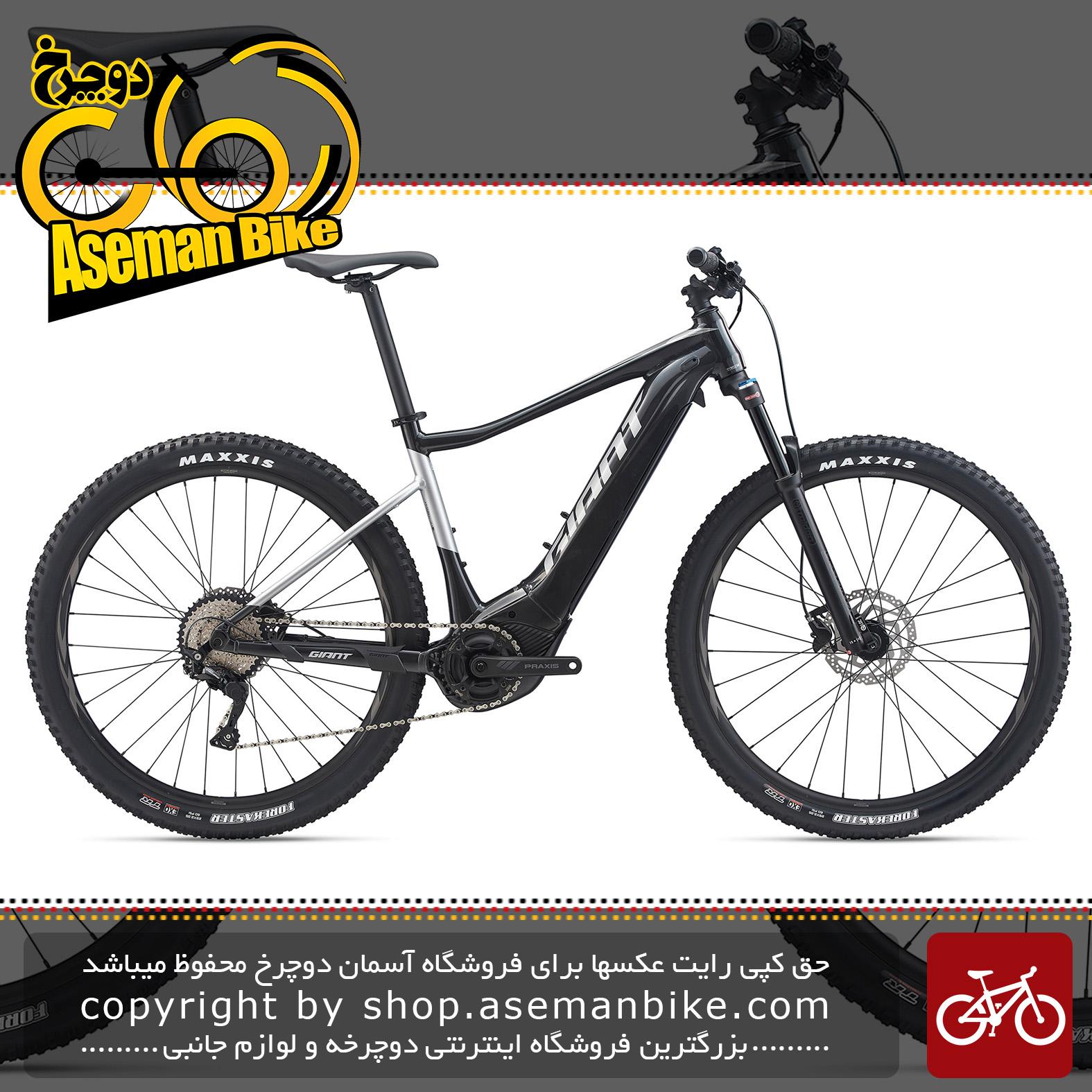 دوچرخه کوهستان برقی جاینت مدل فدم ای پلاس 2 پرو 29 2020 Giant Mountain Bicycle Fathom E+ 2 Pro 29 2020