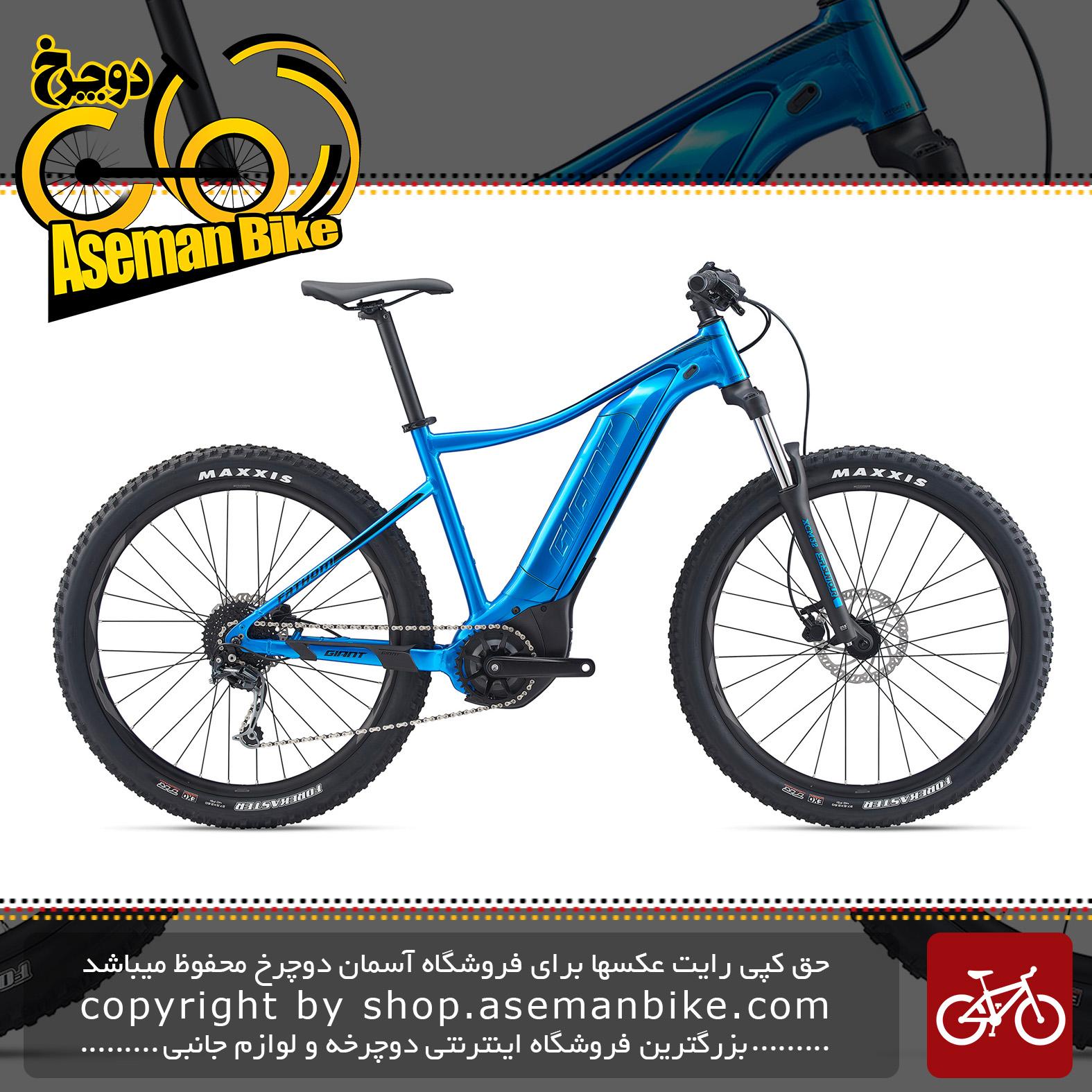 دوچرخه کوهستان برقی جاینت مدل فدم ای پلاس 3 2020 Giant Mountain Bicycle Fathom E+ 3 2020