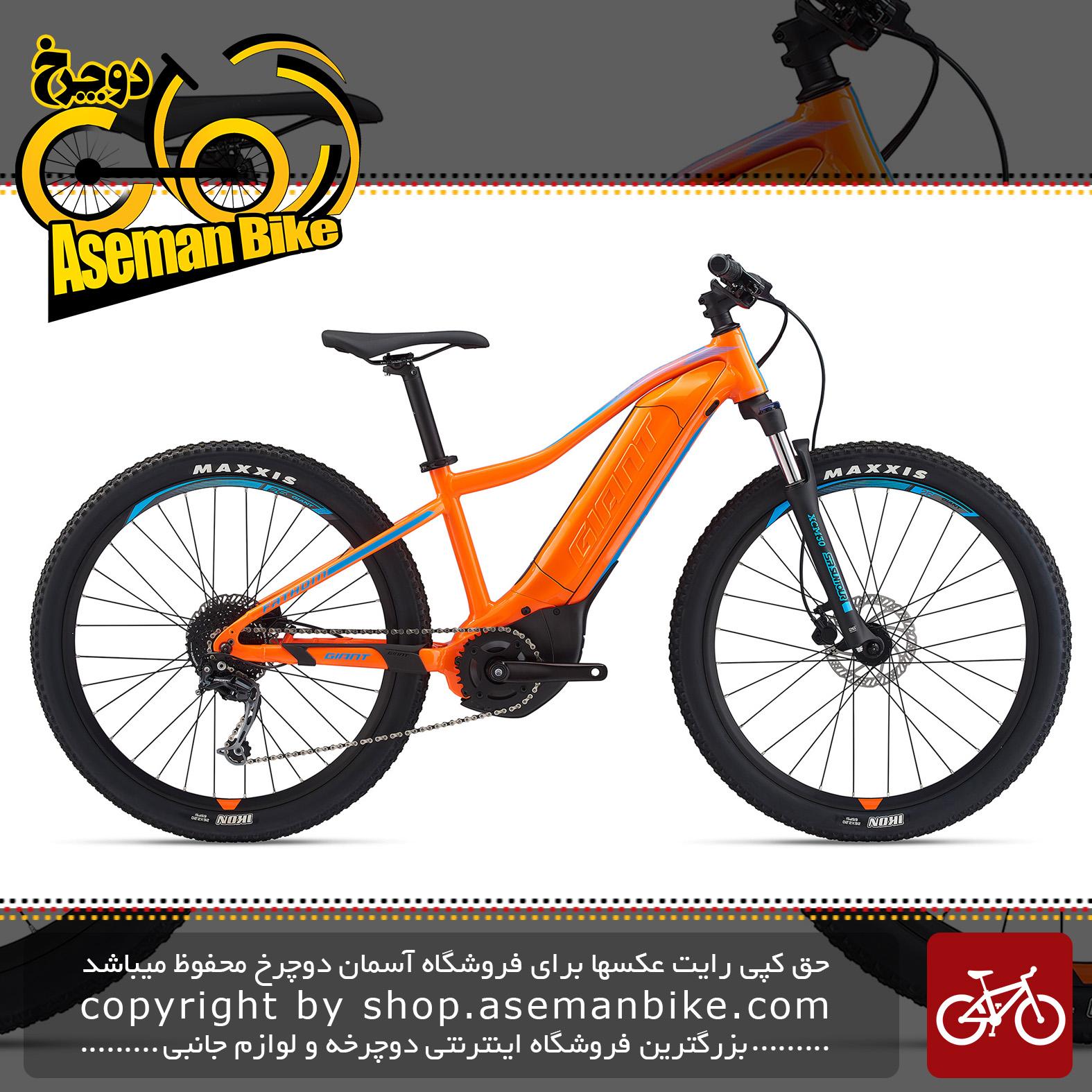 دوچرخه کوهستان برقی جاینت مدل فدم ای پلاس 3 جونیور 2020 Giant Mountain Bicycle Fathom E+ 3 Junior 2020