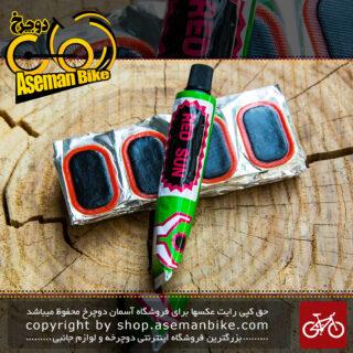 کیت پنچرگیری دوچرخه رد سان Bicycle Gule And Patch RED SUN Tube Repair And Tubless Repair