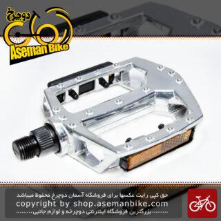 پدال رکاب دوچرخه برند وایب آلومینیومی میخ دار مدل اچ دی 901 Bicycle Pedal Vibe Brand Alloy HD-901