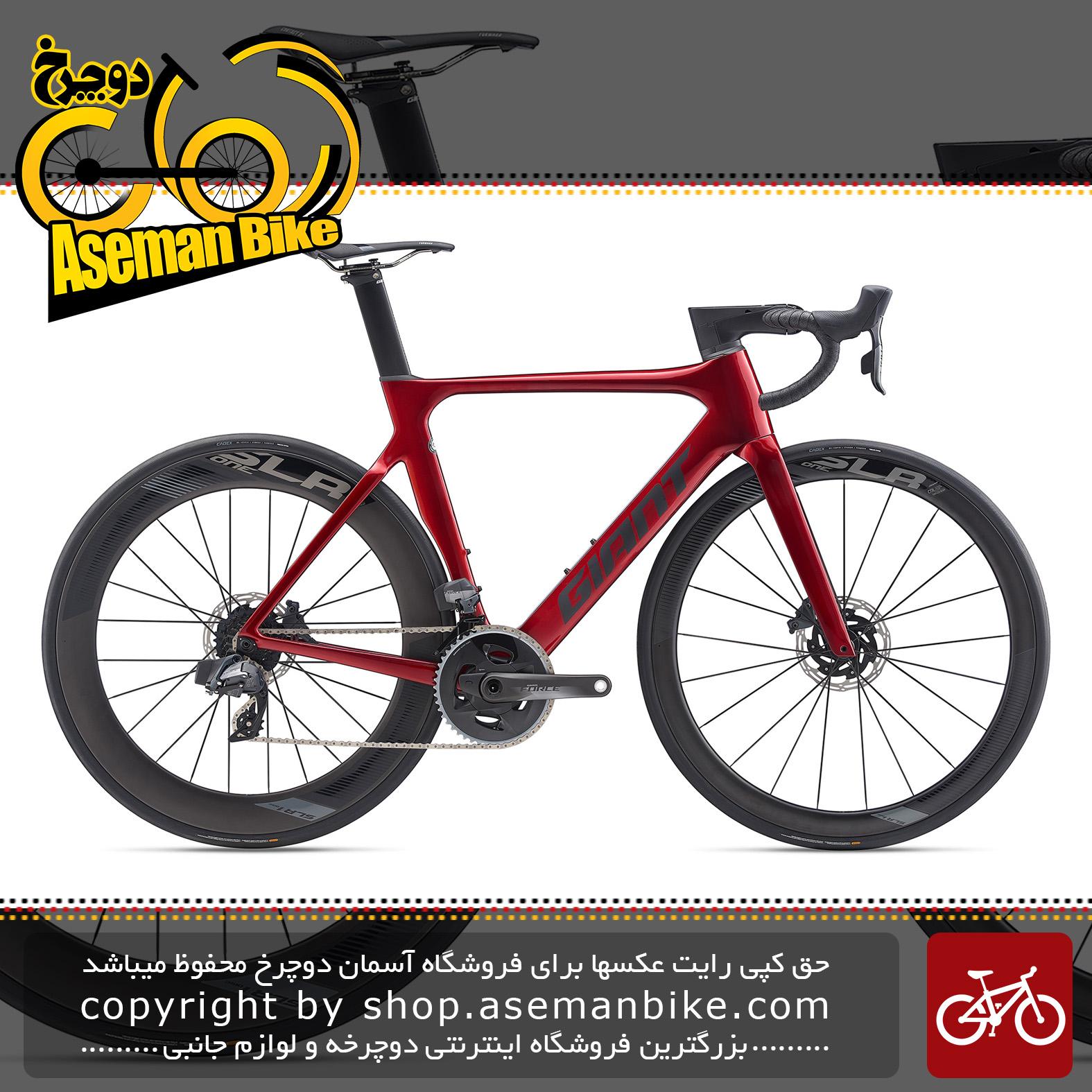 دوچرخه کورسی جاده جاینت مدل پروپل ادونس پرو 0 دیسک هیدرولیک 2020 Giant Road Bicycle Propel Advanced Pro 0 Disc Red 2020