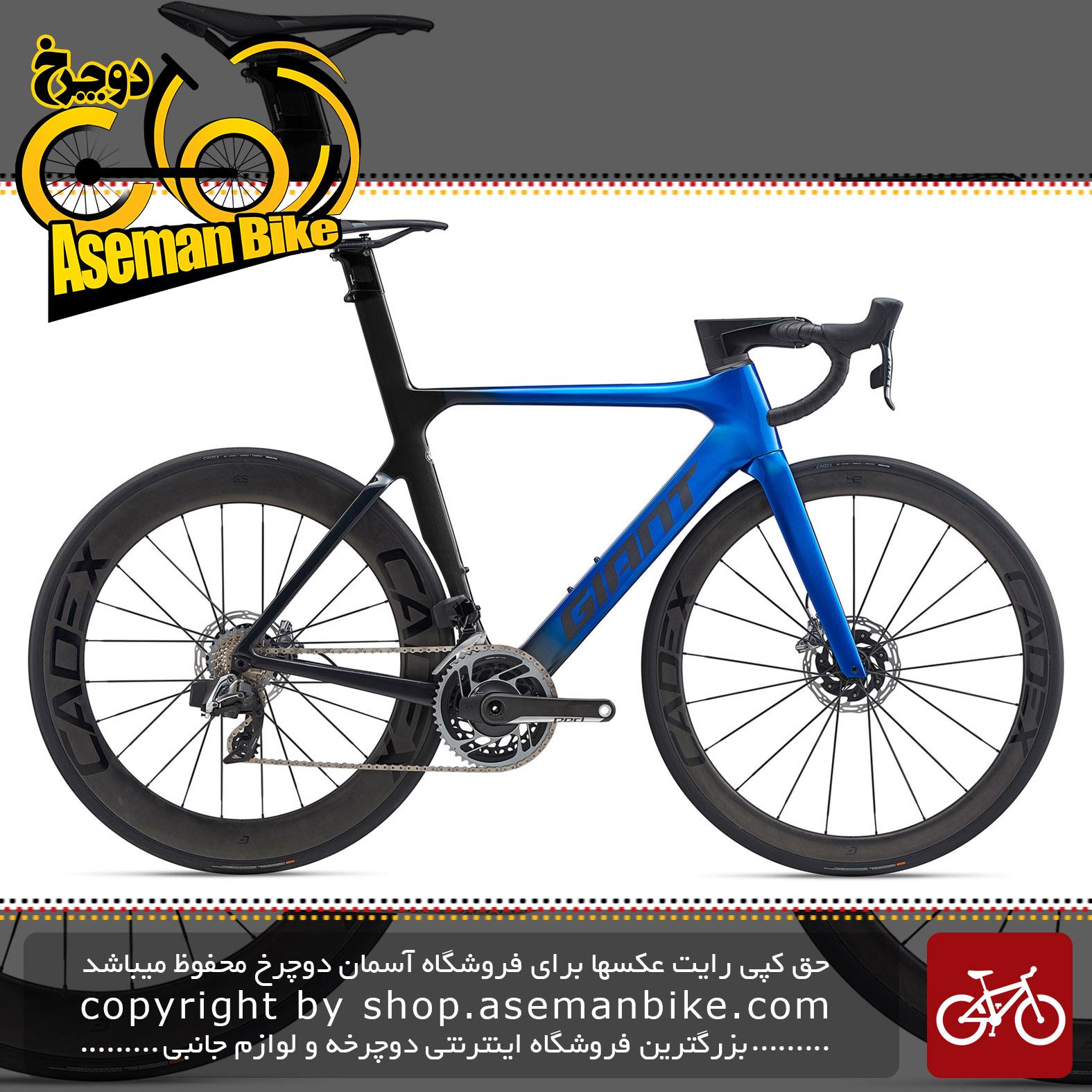 دوچرخه جاده جاینت مدل پروپل ادونس اس ال زیرو دیسک هیدرولیک Giant Bicycle Propel Advanced SL 0 Disc Red