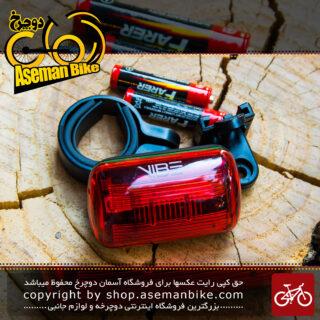 چراغ عقب دوچرخه برند وایب قرمز رنگ مدل سی دی 11 Bicycle Rear Light Vibe Brand Red CD11