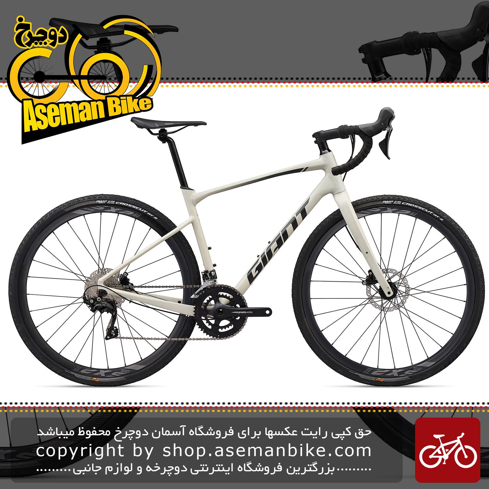 دوچرخه دومنظوره جاینت مدل ریولت 0 2020 Giant Gravel Bicycle Revolt 0 2020