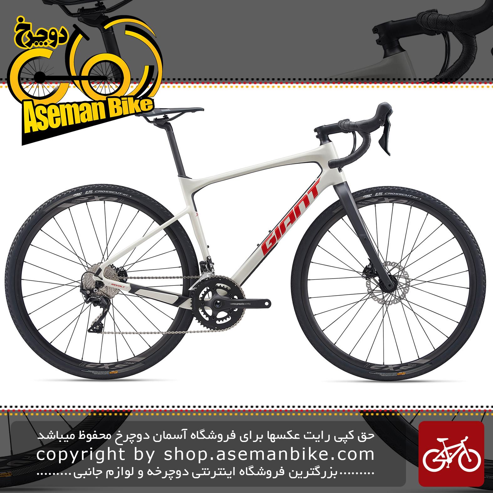 دوچرخه جاده کورسی جاینت مدل ریولت ادونس 2 2020 Giant Onroad Bicycle Revolt Advanced 2 2020