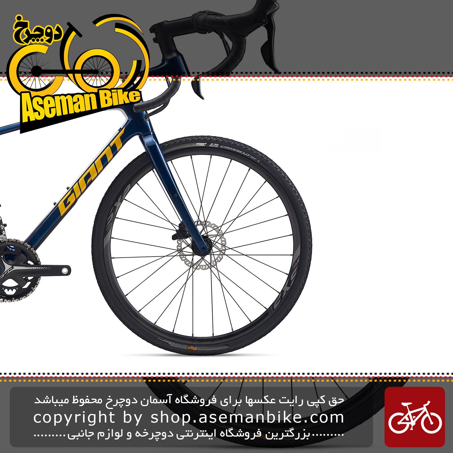 دوچرخه دومنظوره جاینت مدل ریولت ادونس 3 2020 Giant Gravel Bicycle Revolt Advanced 3 2020
