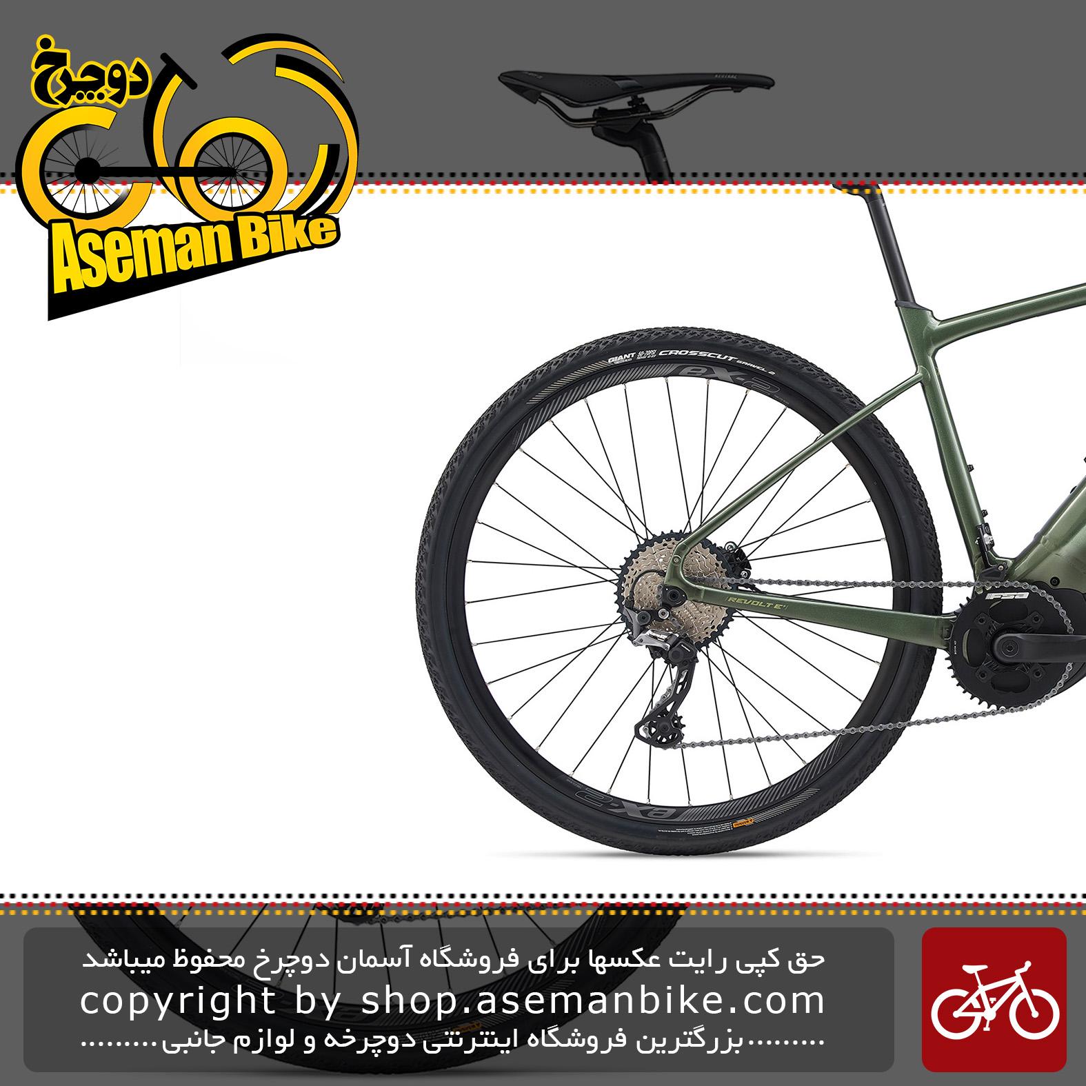 دوچرخه دومنظوره برقی جاینت مدل ریولت ای پلاس پرو 2020 Giant Transit Bicycle Revolt E+ Pro 2020