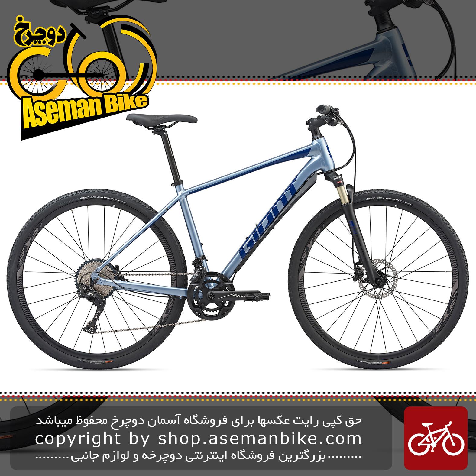دوچرخه دومنظوره جاینت مدل روآم 0 دیسک هیدرولیک 2020 Giant Adventure Bicycle Roam 0 Disc 2020