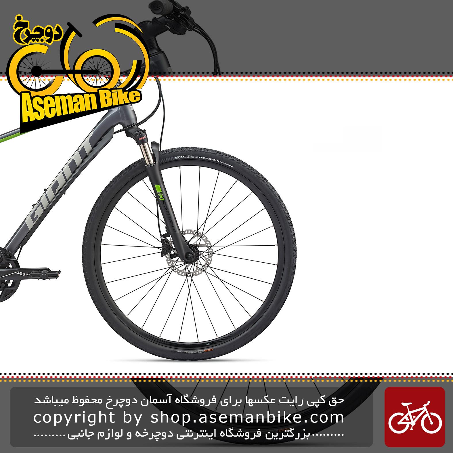 دوچرخه دومنظوره جاینت مدل روآم 1 دیسک هیدرولیک 2020 Giant Adventure Bicycle Roam 1 Disc 2020