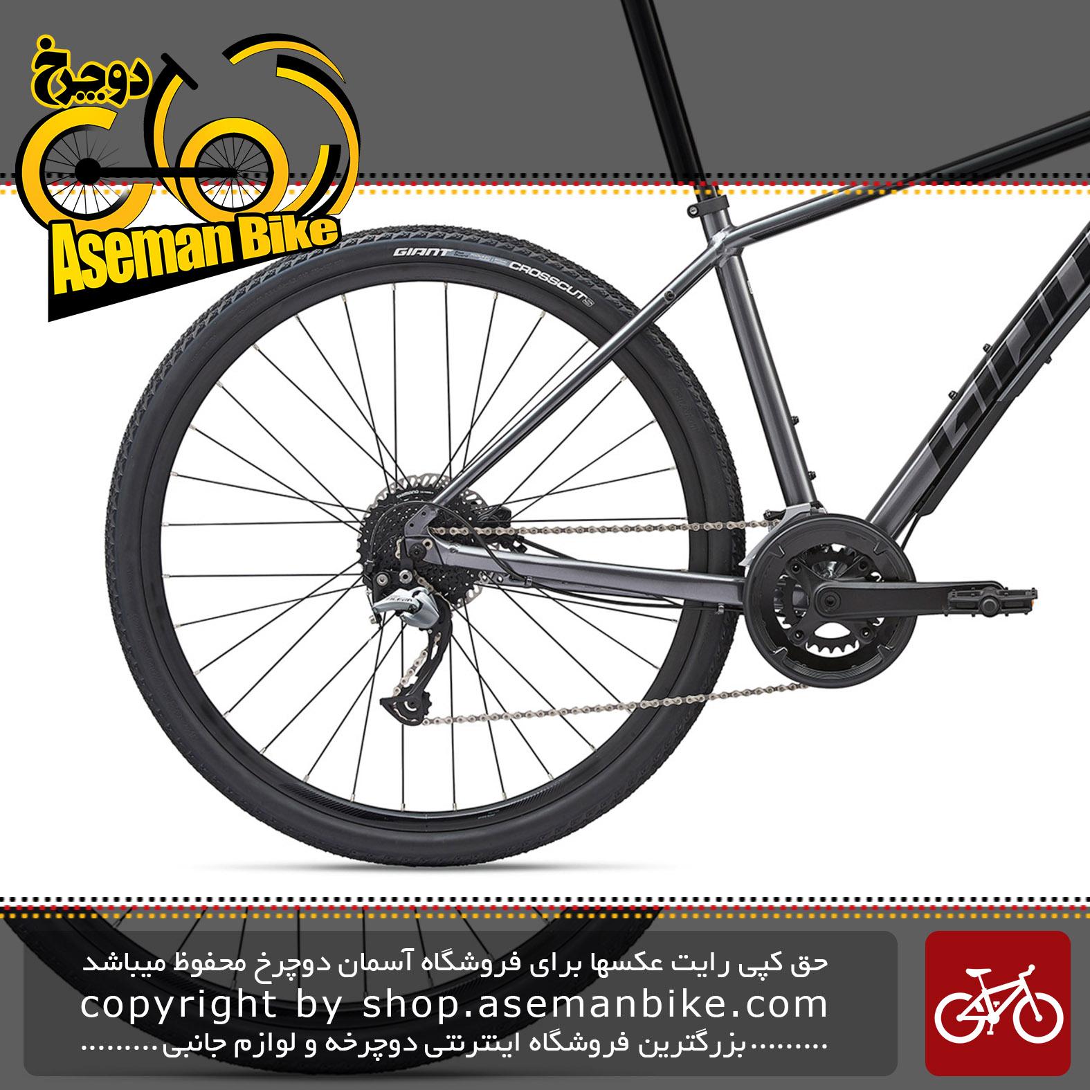 دوچرخه دومنظوره جاینت مدل روآم 2 دیسک هیدرولیک 2020 Giant Adventure Bicycle Roam 2 Disc 2020