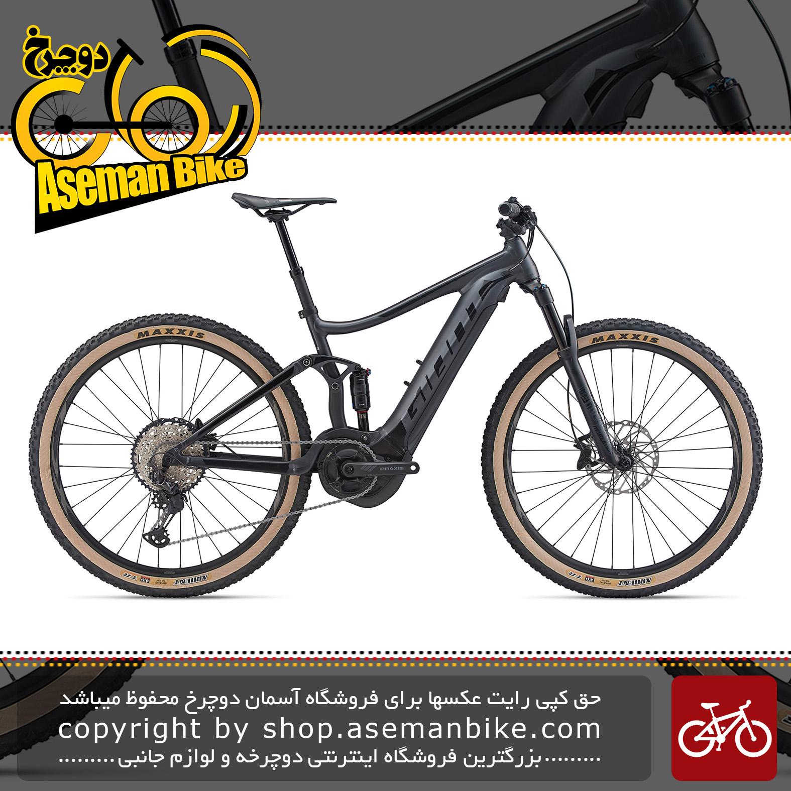 دوچرخه کوهستان برقی جاینت مدل استنس ای پلاس 0 پرو 29 اینچ 2020 Giant Mountain Bicycle Stance E+ 0 Pro 29 2020
