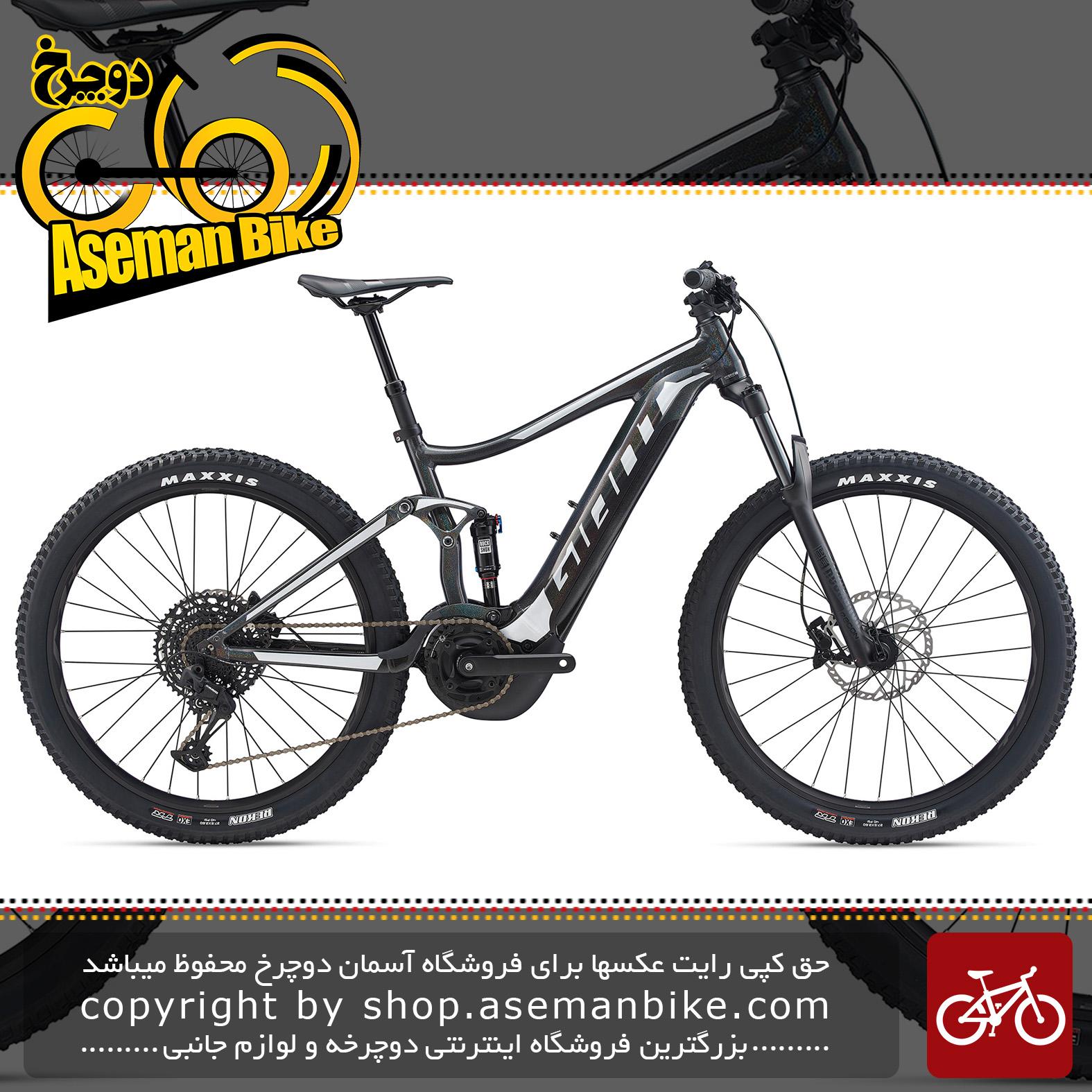 دوچرخه کوهستان برقی جاینت مدل استنس ای پلاس 1 2020 Giant Mountain Bicycle Stance E+ 1 2020