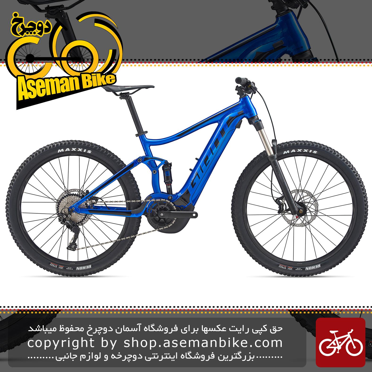 دوچرخه کوهستان برقی جاینت مدل استنس ای پلاس 2 2020 Giant Mountain Bicycle Stance E+ 2 2020