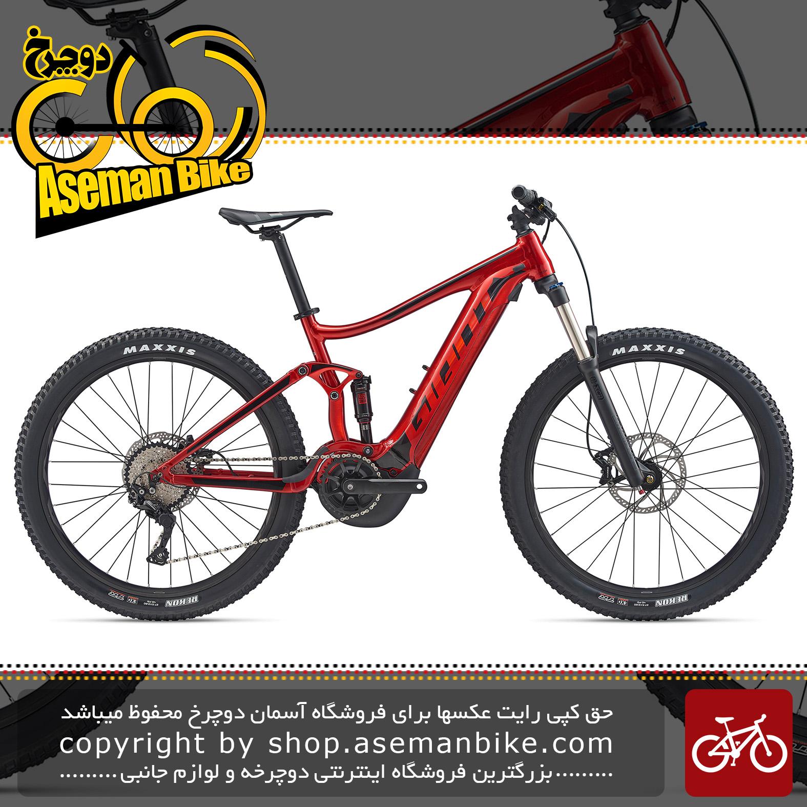 دوچرخه کوهستان برقی جاینت مدل استنس ای پلاس 2 پاور 2020 Giant Mountain Bicycle Stance E+ 2 Power 2020