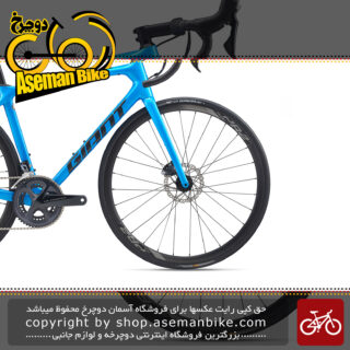 دوچرخه کورسی جاده جاینت مدل تی سی آر ادونس 1 دیسک هیدرولیک کام 2020 Giant Road Bicycle TCR Advanced 1 Disc KOM 2020