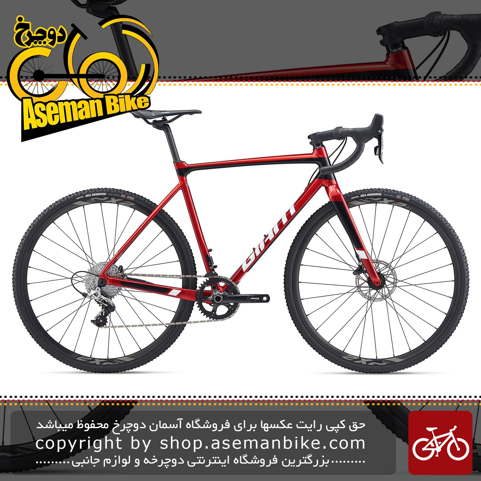 دوچرخه سایکلو کراس جاینت مدل تی سی ایکس اس ال آر 1 2020 Giant Cyclocross Bicycle TCX SLR 1 2020