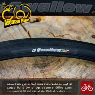 لاستیک تایر دوچرخه شهری و کورسی جاده سالو انرژی ایکس سایز 700 در 23 ساخت اندونزی کیفیت اعلا Tire Bicycle On Road Swallow Energy X 700x23 Indonesia