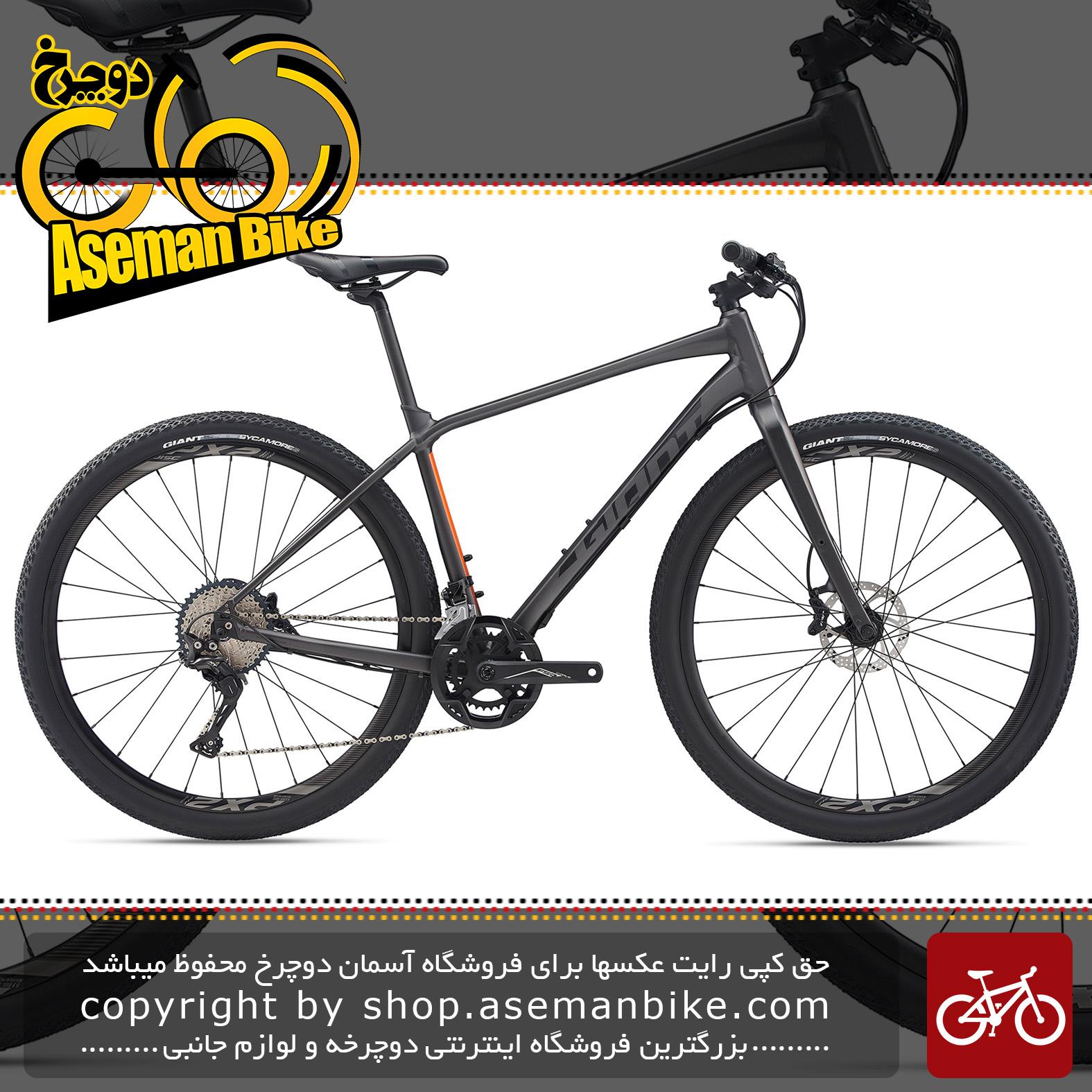 دوچرخه شهری توریستی جاینت مدل تافروود اس ال آر 0 2020 Giant Adventure Bicycle ToughRoad SLR 0 2020