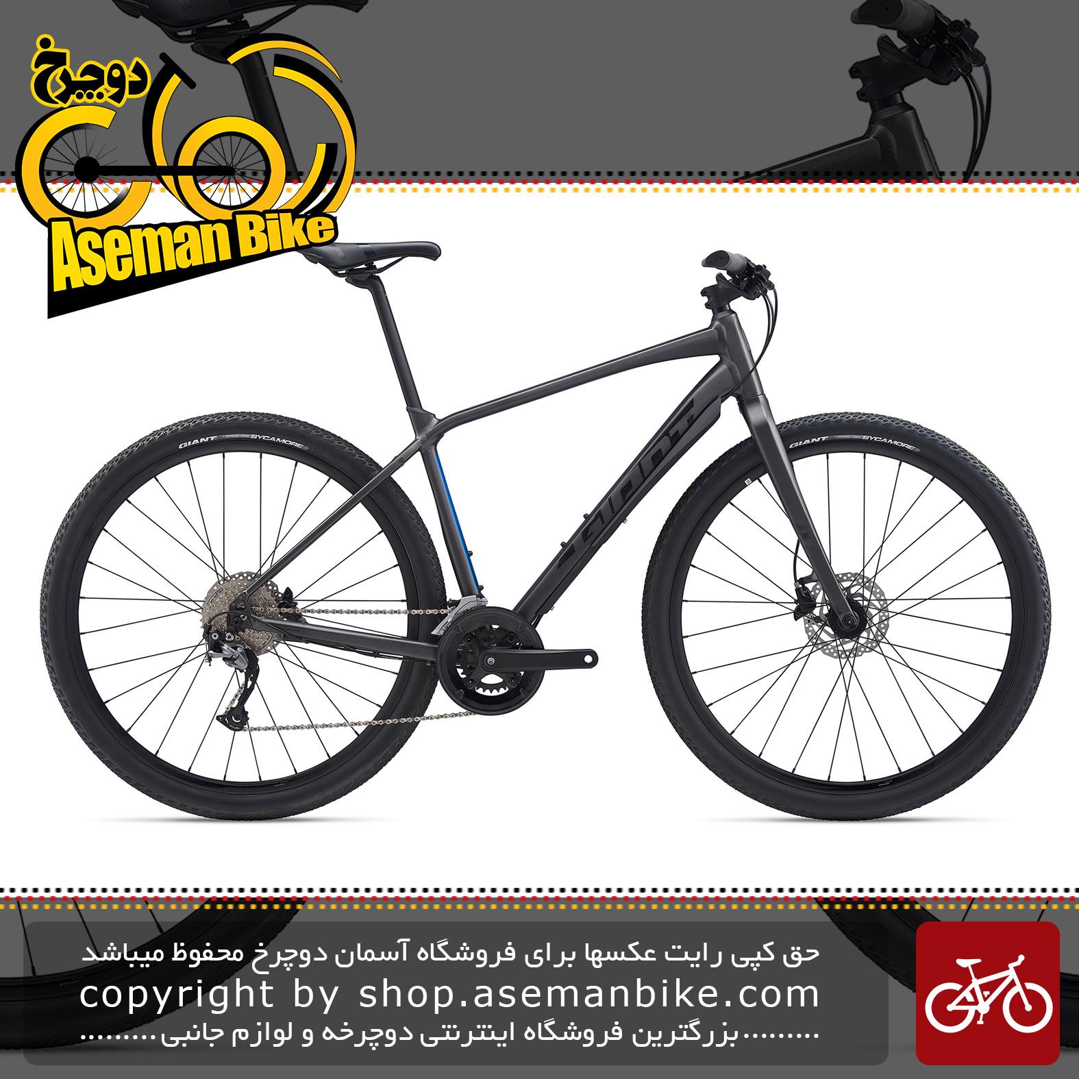 دوچرخه شهری توریستی جاینت مدل تافروود اس ال آر 2 2020 Giant Adventure Bicycle ToughRoad SLR 2 2020