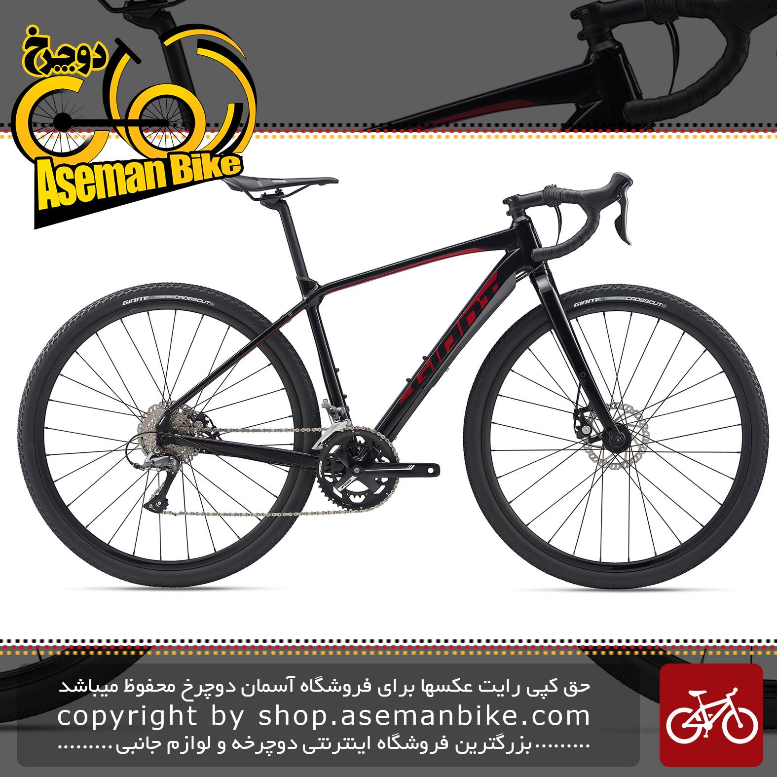 دوچرخه شهری توریستی جاینت مدل تافروود اس ال آر جی ایکس 2 2020 Giant Adventure Bicycle ToughRoad SLR GX 2 2020