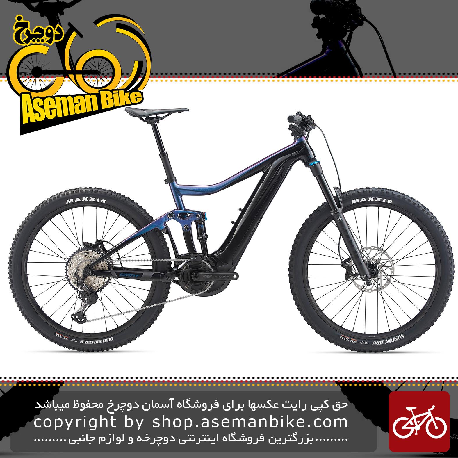 دوچرخه کوهستان برقی جاینت مدل ترنس ای پلاس 2 پرو 2020 Giant Mountain Bicycle Trance E+ 2 Pro 2020