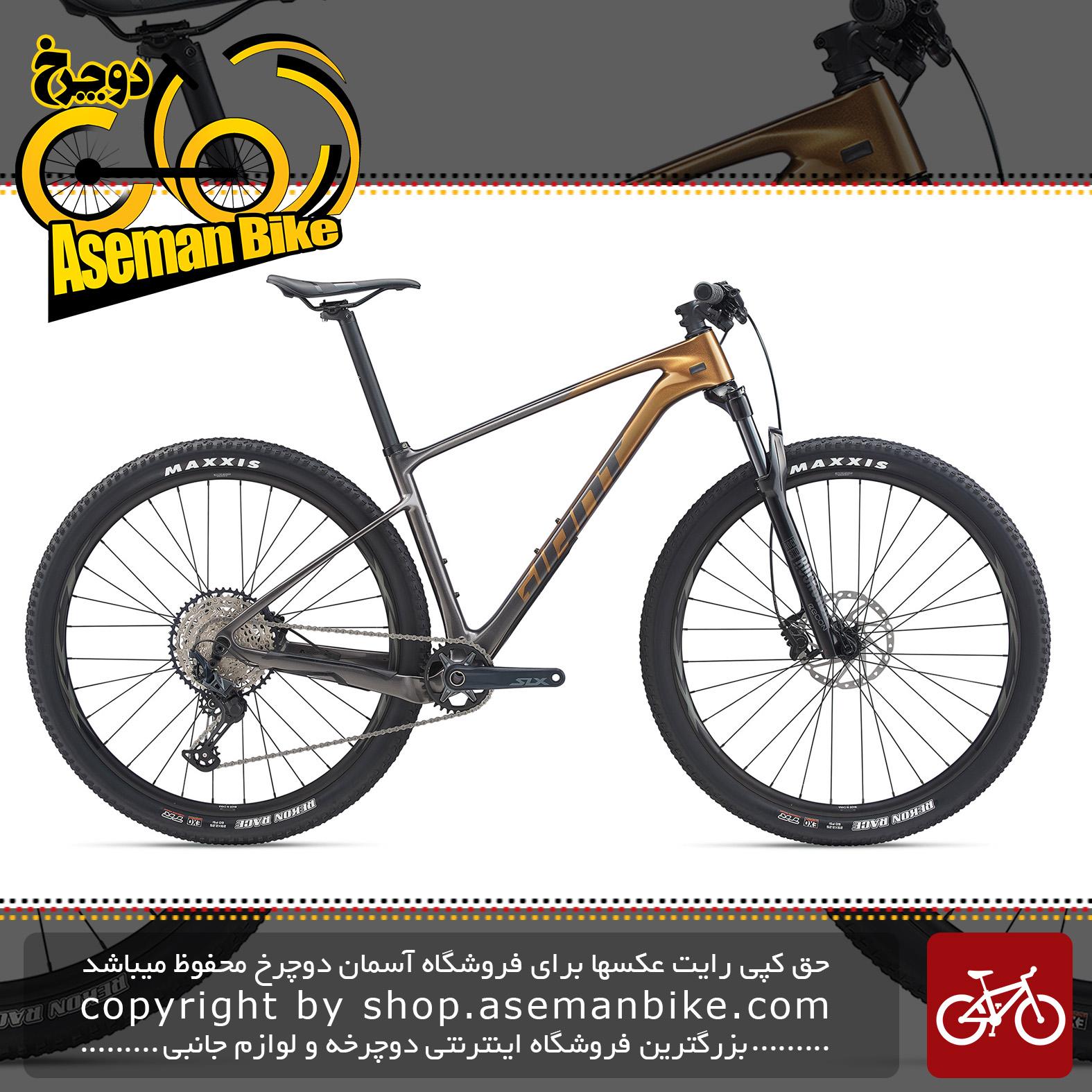 دوچرخه کوهستان جاینت مدل ایکس تی سی ادونس 29 اینچ 2 2020 Giant Mountain Bicycle XTC Advanced 29 2 2020