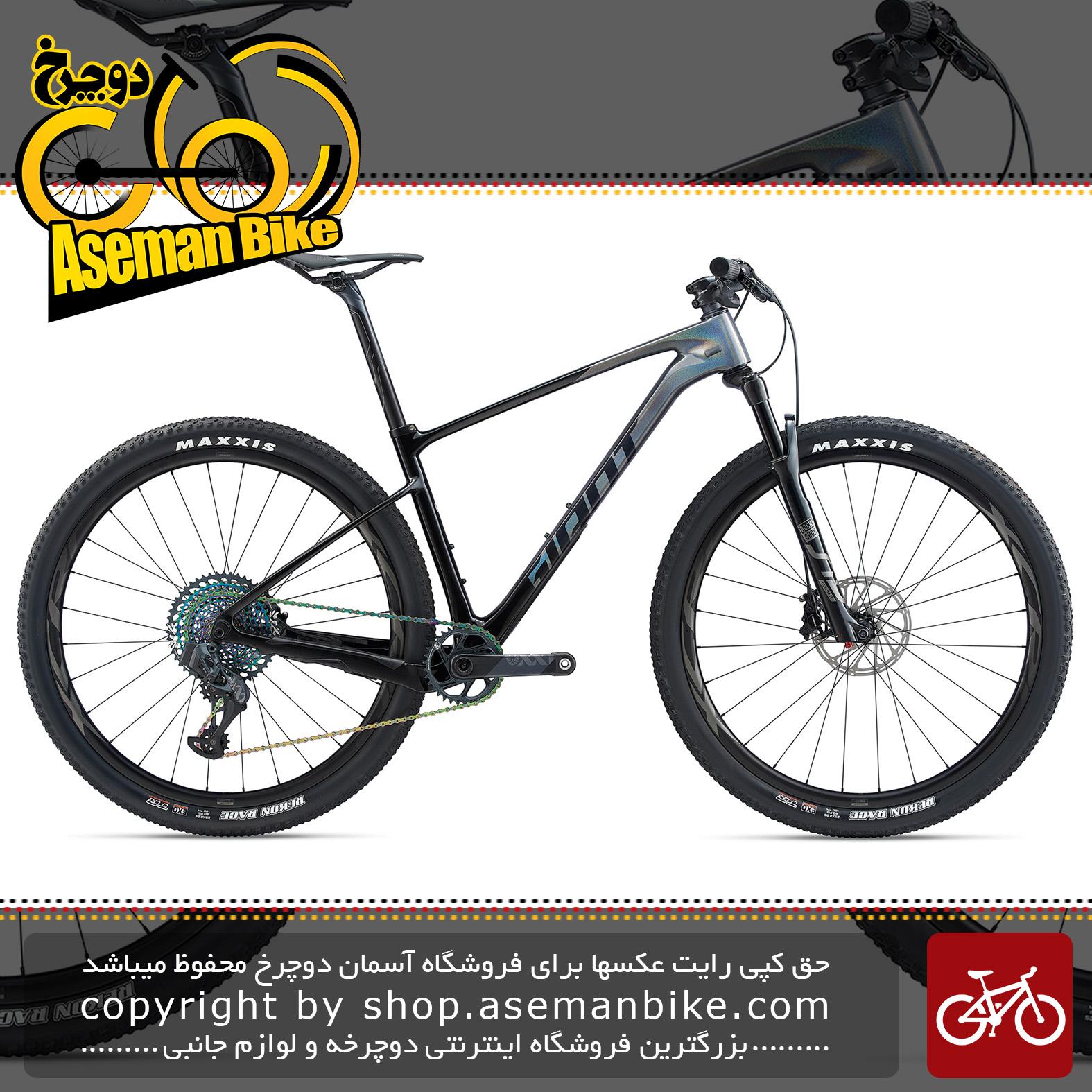 دوچرخه کوهستان جاینت مدل ایکس تی سی ادونس اس ال 29 اینچ 0 2020 Giant Mountain Bicycle XTC Advanced SL 29 0 2020