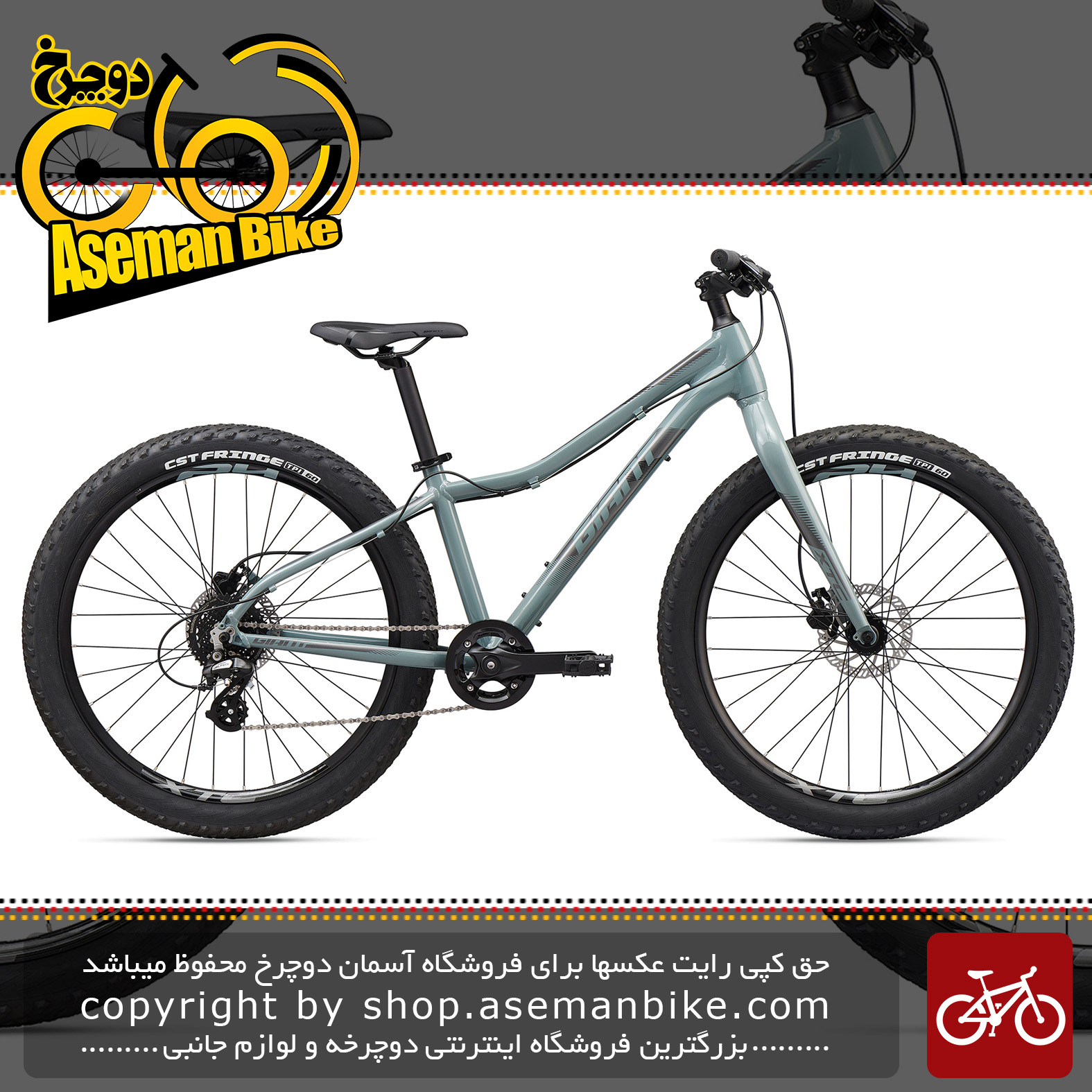 دوچرخه کوهستان جاینت مدل ترنس جی آر 26 اینچ پلاس 2020 Giant Mountain Bicycle XTC Jr 26 + 2020