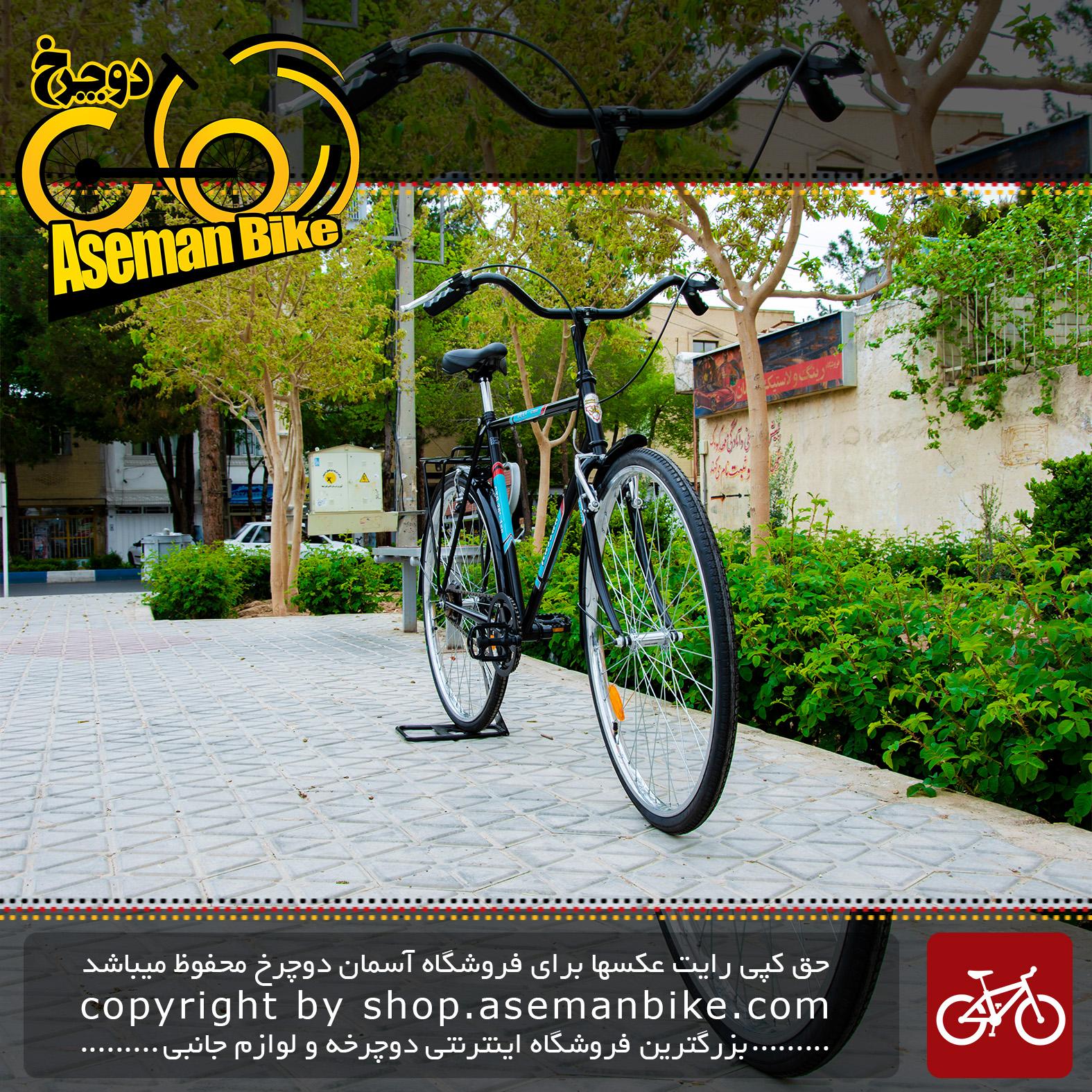 دوچرخه شهری سایکلی آساک مدل دیان سایز 28 اینچ سی 5555 Assak City Bicycle Dian 28 C5555