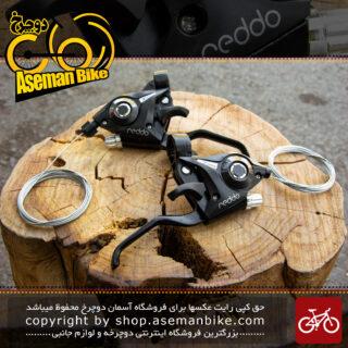 ست دسته دنده و ترمز دوچرخه برند ردو مدل اس ال کا دی 80 21 سرعته Bicycle Shifter And Brake Lever Set Reddo Brand SL-KD80 21sp