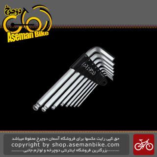 ست آچار آلن دوچرخه پرو مدل 0037 Pro Hex Key Set PRTL0037