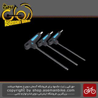 ست آچار آلن دوچرخه پرو سایز 4/5/6 مدل 0090 Pro T-wrench set 4-5-6 PRTL0090