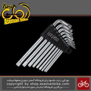 آچار ستاره دوچرخه پرو مدل 0038 Pro Torx Key Set PRTL0038