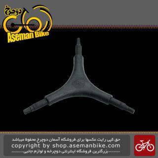 ابزار دوچرخه دسته آچار بوکس Y شکل پرو مدل 00349 Pro Y-Wrench Hex PR100349