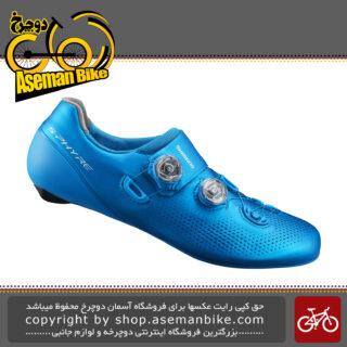 کفش دوچرخه سواری کورسی جاده لاک قفل شو برند شیمانو اس فایر آر سی 901 Shimano On-Road Lock Shoes RC9 SH-RC901