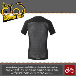 لباس دوچرخه سواری برند شیمانو اس فایر تیشرت آستین کوتاه مدل آر اس 13 ام S-PHYRE Base Layer CW-BLBS-RS13M