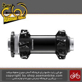 توپی جلو دیسکی دوچرخه برند شیمانو مدل ایکس تی آر-ام تی 900 بی اس SHIMANO Disc Brake Front Hub 110x15 mm E-THRU Axle (Straight Spoke) HB-MT900-BS