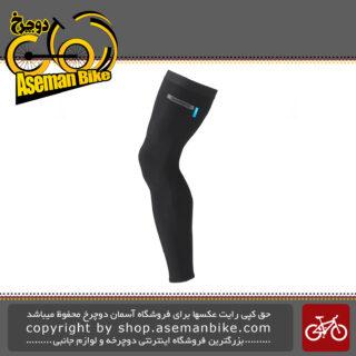 ساق پا گرم کن برند شیمانو مدل آر اس 21 یو SHIMANO LEG WARMER CW-WABW-RS21U